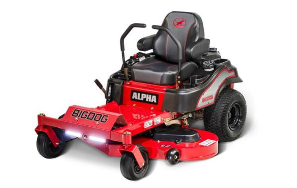 2017 BigDog Mowers Alpha 36