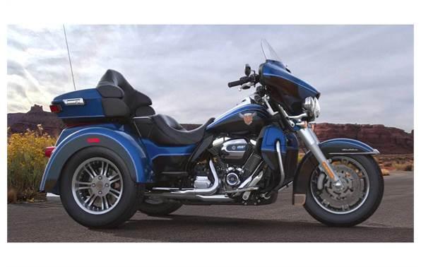 Harley Davidson Tri Glide >> 2018 Harley Davidson Tri Glide Ultra Anniversary Color Option