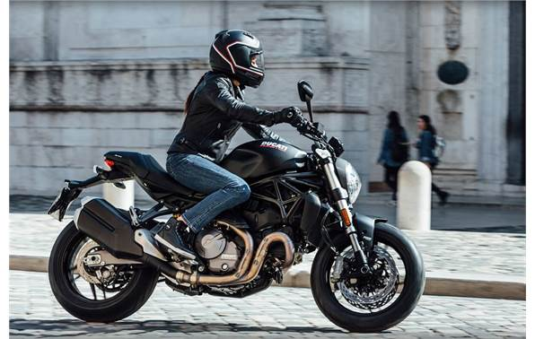 Ducati Monster 821 >> 2018 Ducati Monster 821 Dark Stealth
