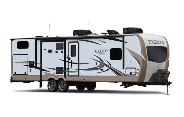 2018 Rockwood By Forest River 8327SS Signature Ultra Lite Travel Trailers For Sale In Tiffin IA