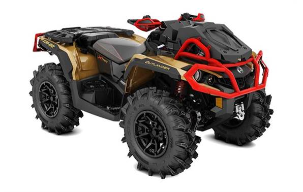 2019 Can-Am Outlander™ X® mr 1000R - Gold, Black & Can-Am Red