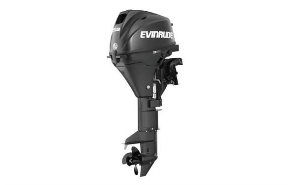 2019 Evinrude 9 8 HP - E10PGL4 Graphite