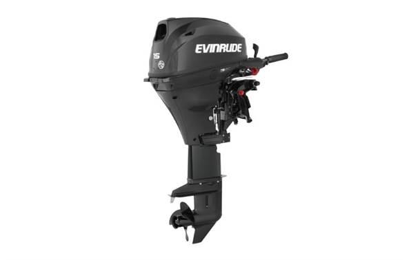 2019 Evinrude 15 HP - E15RG4 Graphite