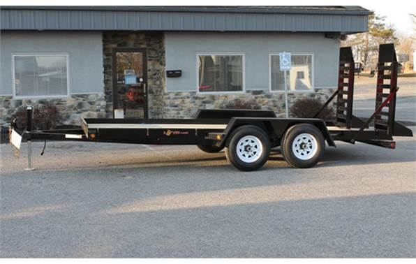 2017 Bwise EA16-10 (16\' / 10K) Angle Frame Equipment Trailer for ...