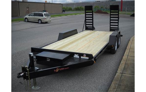 2017 Bwise EC20-10 (20\' / 10k) Channel Frame Equipment Trailer for ...