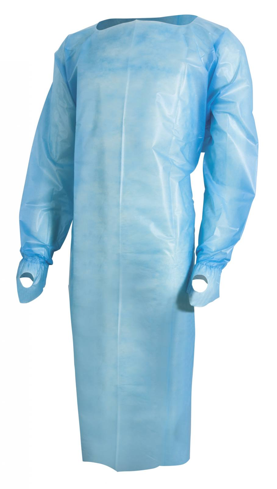 McKesson Brand MCKESSON FLUID-RESISTANT ISOLATION GOWN LARGE BLUE ...