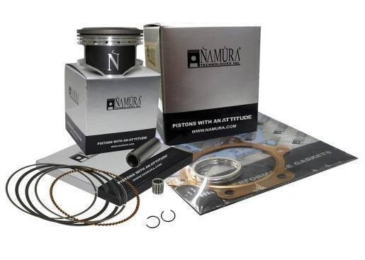 Piston Kit Standard Bore 52.44mm~2007 Kawasaki KX100~Namura Technologies Inc.