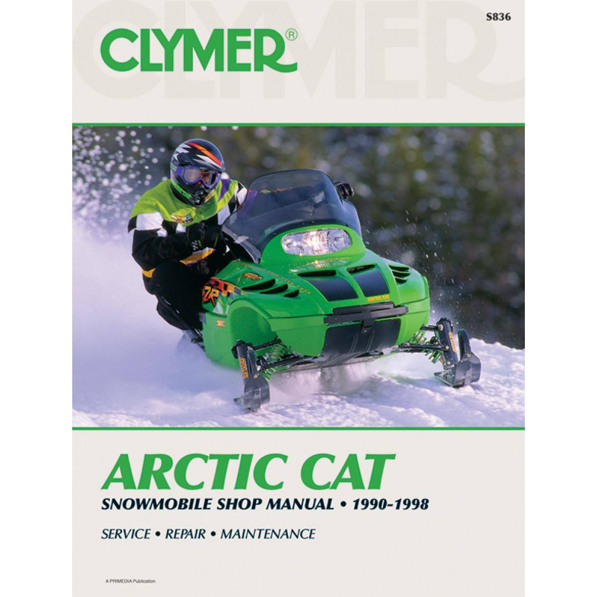 1989 1993 arctic cat 650 snowmobile master service manual