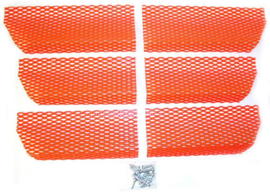 Dudeck A-10 CANDY RED  Screen Kit Arctic Cat Candy Red
