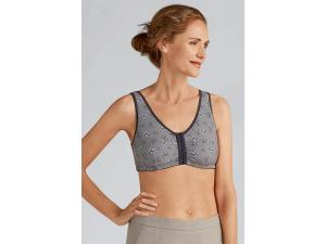 FRANCES NON-WIRED FRONT CLOSURE BRA
