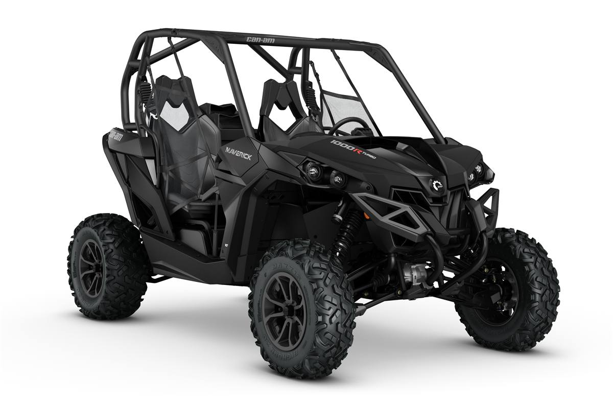 2017 Can Am Maverick Turbo Triple Black
