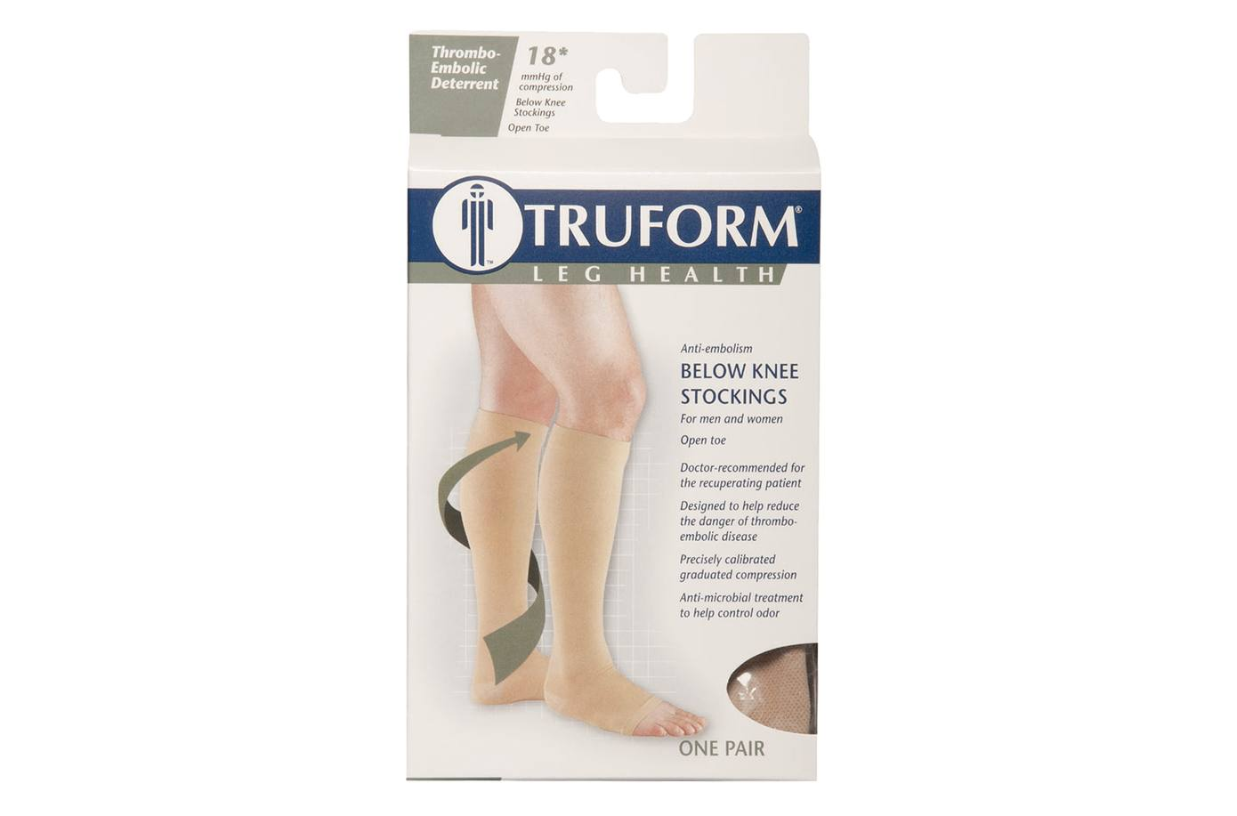 ebb1ded3f0 0808 18MMHG KNEE HIGH OPEN TOE STOCK ANTI-EMBOLISM for sale in San Diego,  CA | Eric's Medical Supply (619) 298-9640