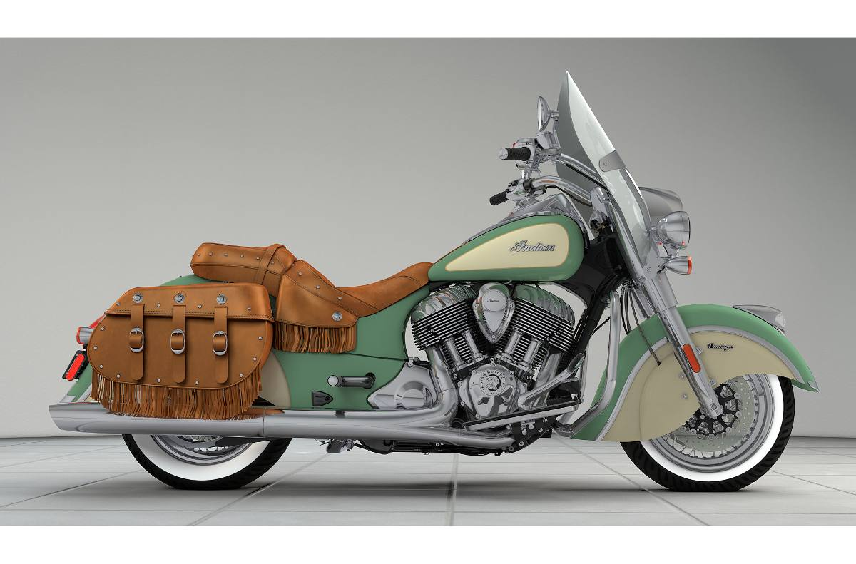 2017 Indian Motorcycle Indian® Chief® Vintage - Two-Tone Option for ...