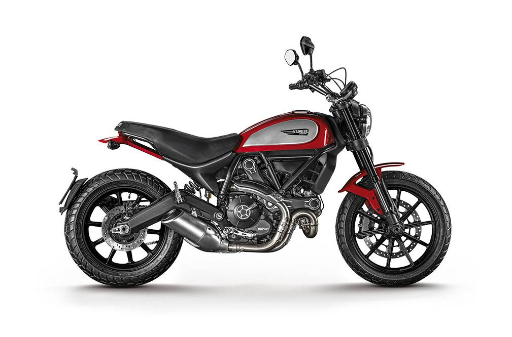 Scrambler Icon Red