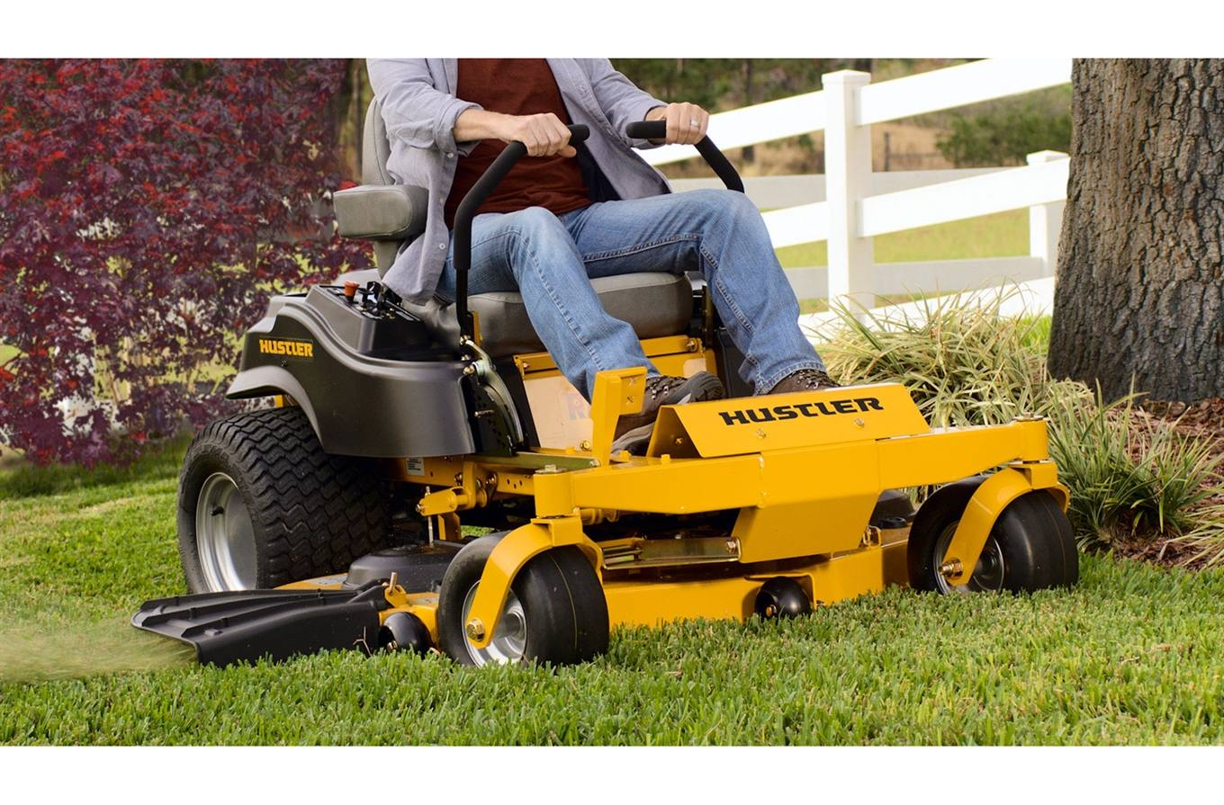 Something hustler mower discount