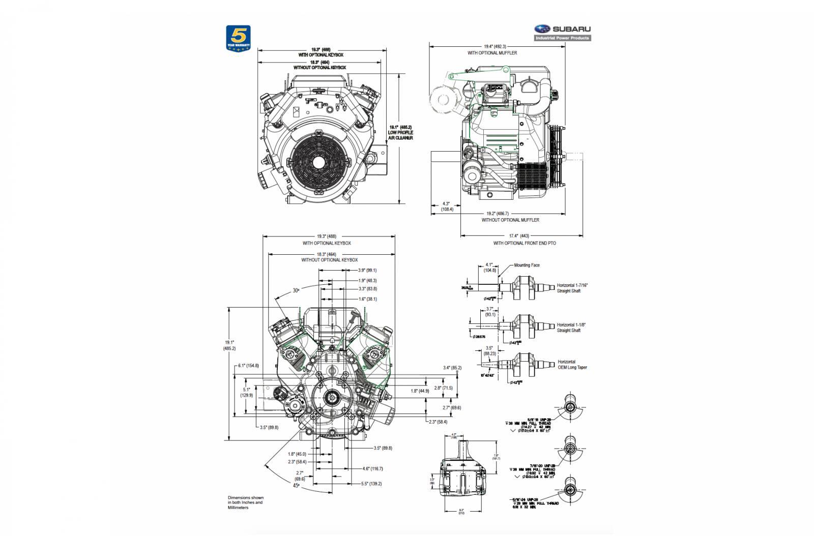 2017 Robin Subaru Eh99 For Sale Irrigators Supply Mckinney 972 Hp Tecumseh Engine Diagrams Car Tuning 562 5390