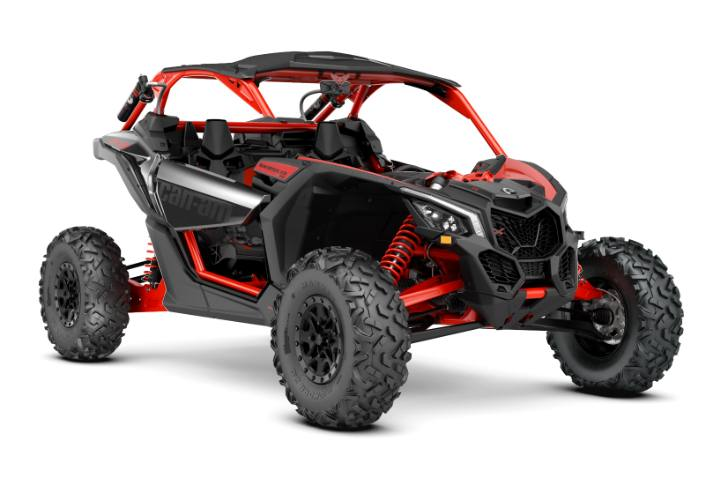 Item 2018 Can Am Maverick X3 X Rs Turbo R Triple Black Red Locationid 24991