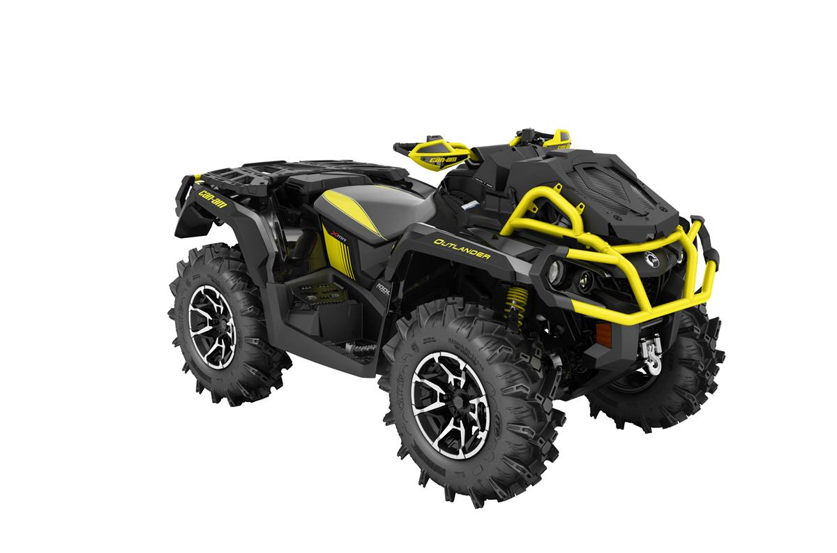 Can Am Outlander 1000 Xmr >> 2018 Can Am Outlander X Mr 1000r Carbon Black Yellow
