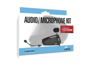 Audio/Boom Mic Kit for Cardo Scala Rider Hybrid