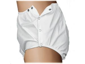 REUSABLE INCONTINENT PANTS SNAP CLOSURE