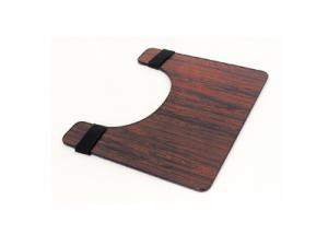 WHEELCHAIR TRAY - ROSEWOOD