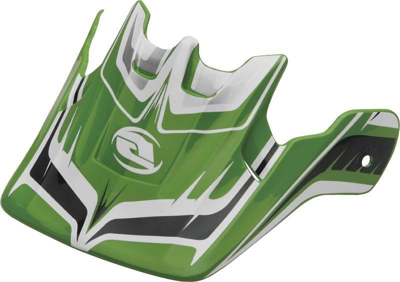 Ion Black//White XF45-4226 Answer Helmet Visor Nova 2010