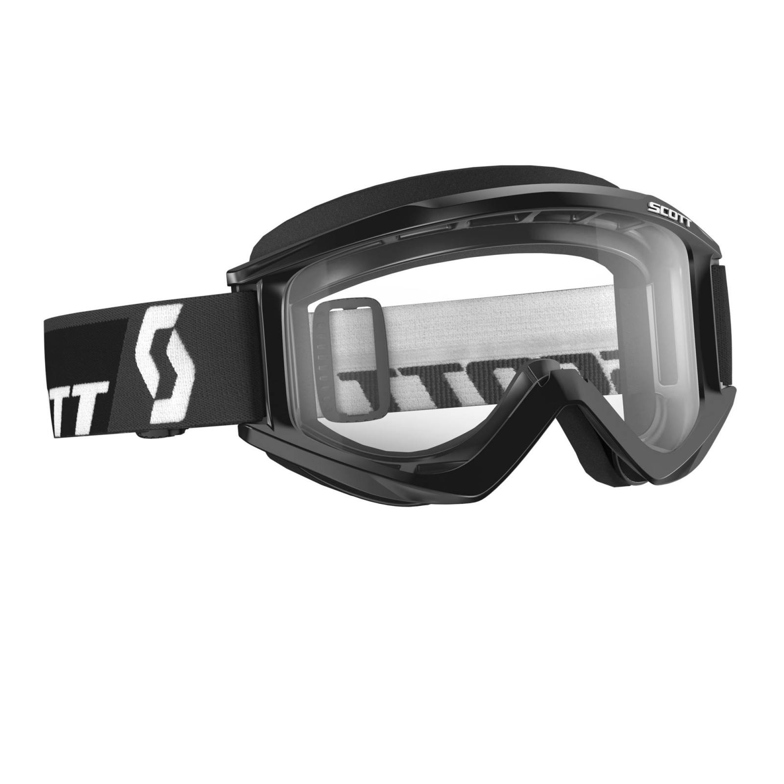 Scott USA 262596-1030113 White With Clear Lens Recoil Xi Goggles White//Blue