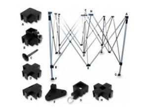 REPLACEMENT PARTS FOR COLLAPSIBLE CANOPIES