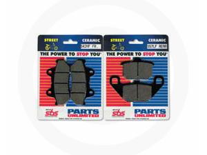 PARTS UNLIMITED BRAKE PADS & SHOES - HONDA