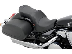 Low-Profile Double-Bucket Seat with Dual Backrest