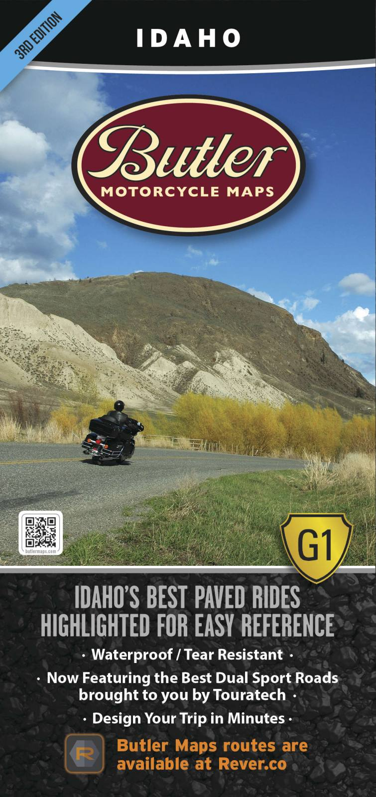 BUTLER MAPS G1 Series Maps Idaho MP-106