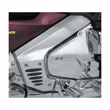 Show Chrome Frame Covers With Inserts for Honda GL1800 Gold Wing 52-724