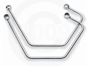 COBRA™ CHROMED SADDLEBAG SUPPORTS