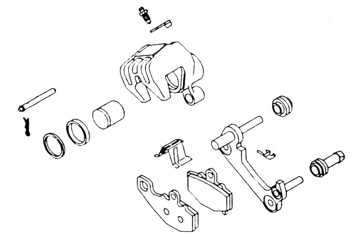 Brake Caliper Rebuild Kit For Sale Winston Salem 336 768 3433 1982 Honda Goldwing Gl1200 Aspencade Wiring Diagram Usa