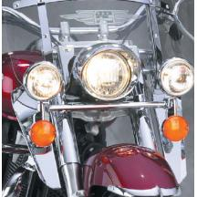 National Cycle N76602 Switchblade Chrome Lower Deflectors for Kawasaki VN1600A//