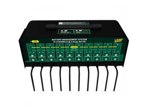 10-Unit Battery Charger