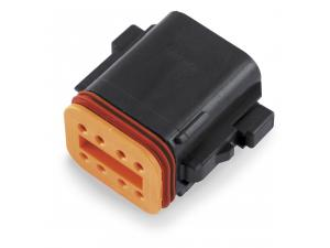 Deutsch Black 6 Wire Plug
