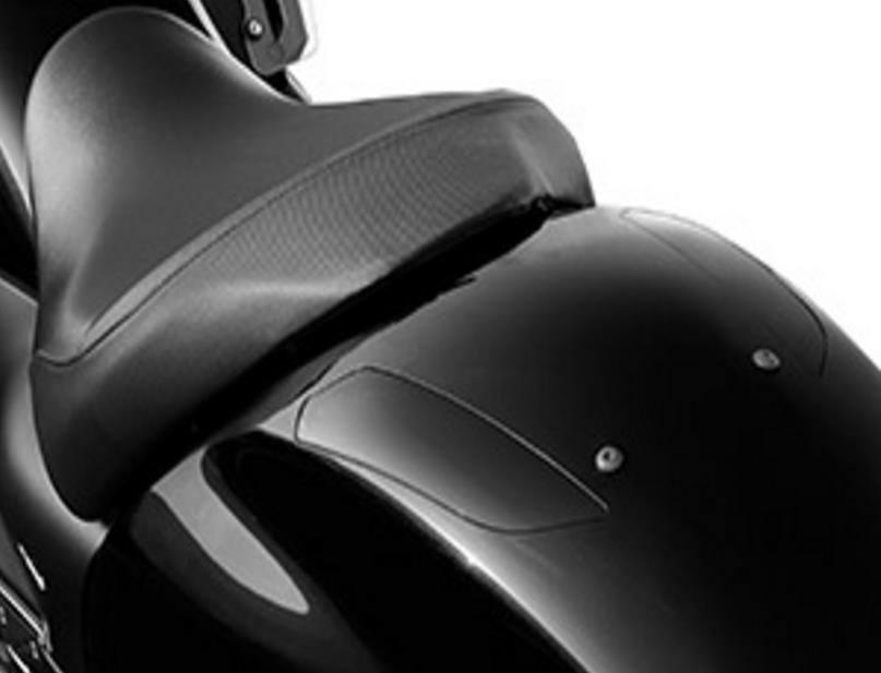 HONDA VALKYRIE 2014 BLACK REAR FENDER LID 08F75-MJR-670ZB