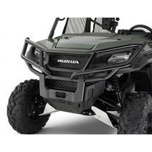 Honda® Pioneer side by side fitted with brush guard