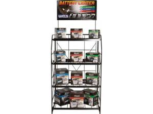 Battery Rack Display and Sign