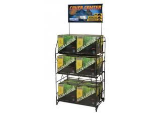 Cover Rack Display & Sign