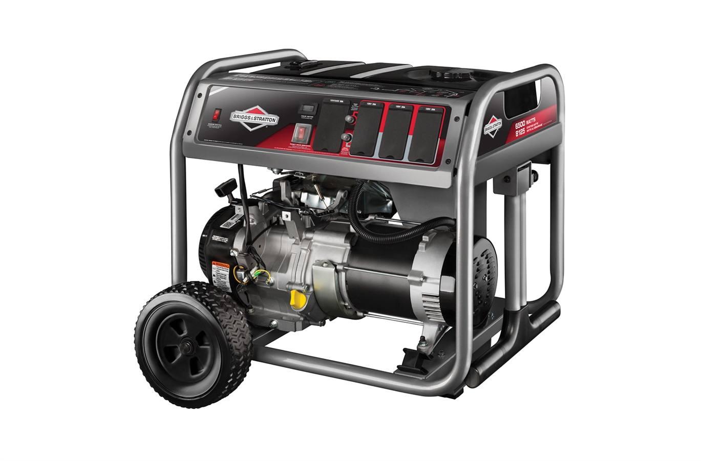 2018 Briggs & Stratton 6500 Watt Portable Generator (30659