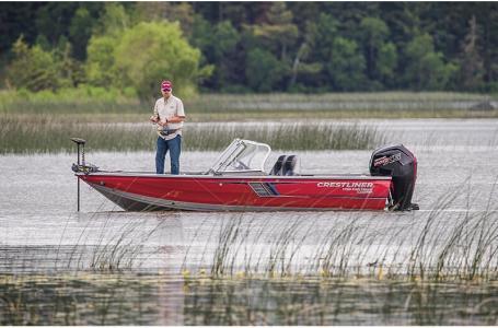 For Sale: 2018 Crestliner 1750 Fish Hawk Walk-through 17ft<br/>Trudeau's Sea Ray - Spokane