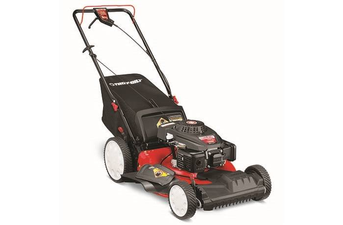 Item 2018 Troy Bilt Tb220 High Wheel Self Propelled Mower With Front Drive 12avb2m5766 Locationid 29046