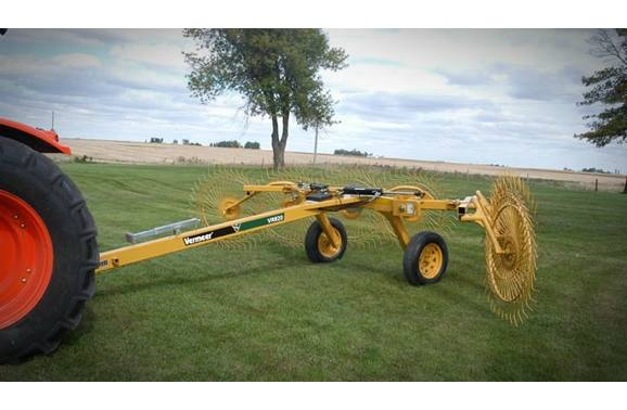 2018 Vermeer VR820 Carted Wheel Rake for sale in Osage, IA