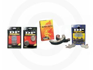 DP BRAKE PADS & SHOES FOR HONDA 3-WHEELERS