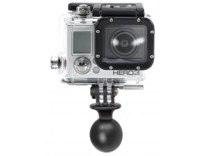 1in. Diameter Ball with Custom GoPro Hero Adapter