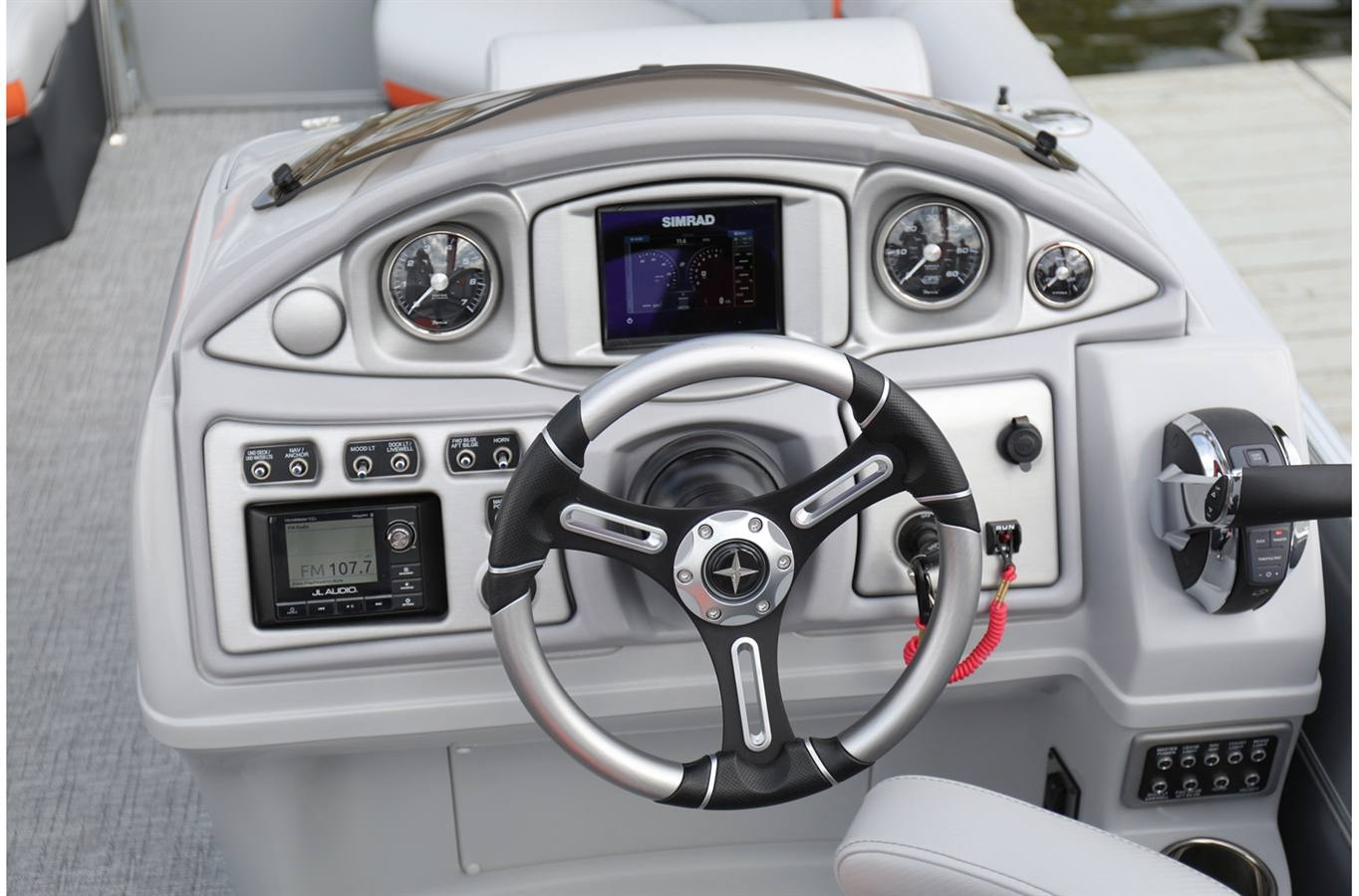 2018 Berkshire Pontoons Sts Entertainment Series 23sb 275 For Pontoon Boat Wiring Harness Previous