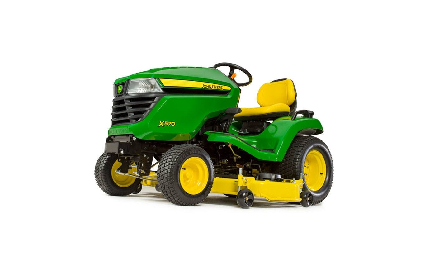 2018 John Deere X570, 48-in  Deck
