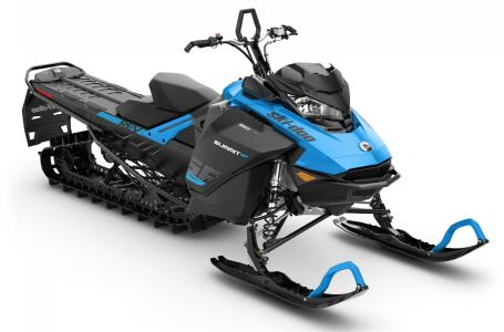 2019 Ski Doo Summit Sp 850 E-tec Shot 165 Octane Blue & Black
